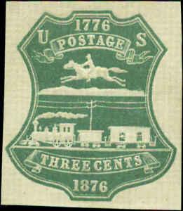 US Scott #U219 Cut Square Mint Hinged