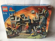 LEGO Duplo Ritterburg - große Burg / Castle - Ritter, Pferd - Set 4777 in Ovp