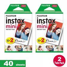 40 Fujifilm Instax Mini Instant Polaroid Film Print for Fuji Mini 7-8 Cameras