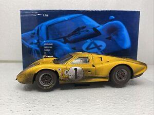 1/18 Exoto 1967 Ford  GT40 MK IV Sebring Winner  WEATHERED Part # RLG18051 BNIB