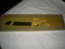 VINTAGE WEDDING CAKE CUTTING KNIFE BOXED