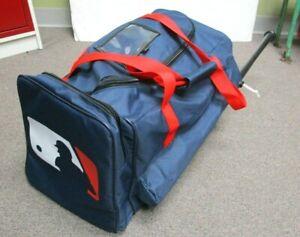 MLB LOGO ATLANTA BRAVES NAVY RED PRO BAG EQUIPMENT BAG (Rare)