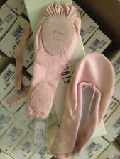 Bloch 213L 213  PINK Ballet dance shoes canvas split sole ladies sz2-8.5 PROLITE