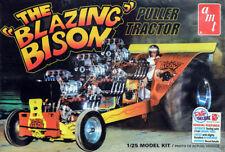 The fiammeggiante Bison Puller TRACTOR DRAG 1:25 AMT Model Kit Kit amt1006
