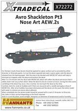 Xtradecal 1/72 Avro Shackleton AEW.2 # 72272