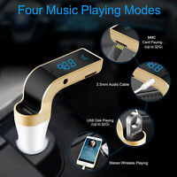 Handsfree Wireless FM Transmitter Car Kit Mp3 Player with USB Charger