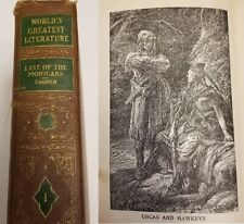 1936 Last of the Mohicans: A Narrative of 1757 (The World's Greatest Literature)