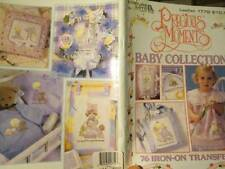 Precious Moments Baby Collection-76 Iron-On Transfers Book-ABC's/ Animals/Toys/A