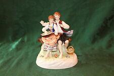 Antique Late 1850-1899 Multi-Color German Porcelain Figurine