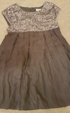 Mini Boden Sequin Party Dress 4-5 Christmas