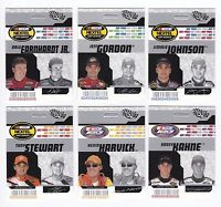 2004 Trackside HOT PASS UNPUNCHED--SCARCE! Complete 27 card set BV$50!