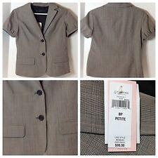 Banana Republic Women Two Button Working Professional Sleek Jacket Blazer 8P $99