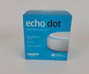 Amazon Echo Dot (3rd Generation) Smart Speaker - White