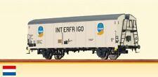 BRAWA -0- 37207 Kühlwagen/Güterwagen UIC St.1 NS Ep4 weiß Chiquita