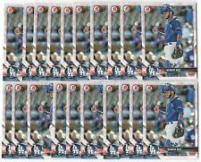 x300 KEIBERT RUIZ 2018 Bowman Draft Rookie Card RC lot/set Los Angeles Dodgers!!