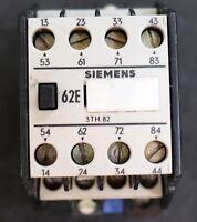 SIEMENS 2 Stück Schütz 62E 3TH8244-0A 4S + 4Ö 4NO + 4NC Steuerspannung 220V 50Hz