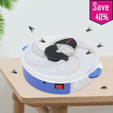 Electric Flycatcher Automatic Fly Trap Device with Trapping Food Fly Catcher