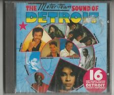 The Motor-Town Sound of Detroit - CD 1993 NEU/NEW Sealed Jimmy Ruffin/Kim Weston