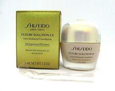 Shiseido Future Solution LX Total Radiance Foundation ~ Golden 2 ~ 1.2 oz / BNIB