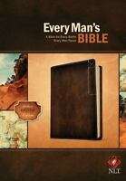 Every Man's Bible-NLT Deluxe Explorer (Leather / Fine Binding)
