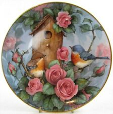 """Royal Doulton Franklin Mint Settling In 8"""" Fine Bone China Collector Plate, Mint"""