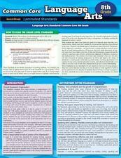 Ccss: Language Arts 8Th Grade: By BarCharts, Inc.