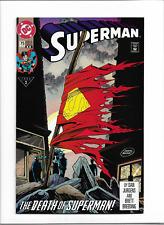 New ListingSuperman #75 2nd Print Vf Dc (1993) -Death Of Superman