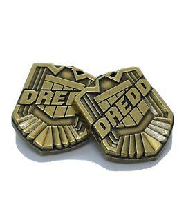 Judge dredd badge lapel pin.  *SOLID METAL*