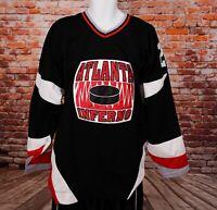 VTG CCM NHL ATLANTA INFERNO Hockey 20 Delawalla Jersey XL