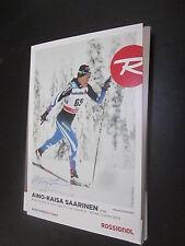 51787 s.w.a.k. Saarinen OLYMPIA medaglie vincitore originale con firma autografo cartolina