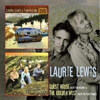 LAURIE LEWIS - GUEST HOUSE & THE GOLDEN WEST 2CDs (New & Sealed) Bluegrass