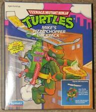 1991 TEENAGE MUTANT NINJA TURTLES   MIKE'S PIZZA CHOPPER BACKPACK   MINT IN BOX