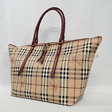 1ef06a487d0 NWT Burberry Haymarket Medium Salisbury Tote in Military Red MSRP  895