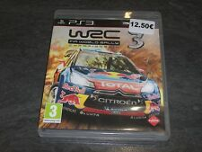 JEU PS3 WRC 3 FIA WORLD RALLY CHAMPIONSHIP MILESTONE COMPLET OCCASION