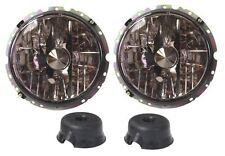 MK1 GOLF CABRIO Headlights smoked Crystal Clear, RHD Pair, Mk1 Golf / T1/2