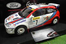 FORD FOCUS WRC #7 RALLYE MONTE CARLO 1999 Mc Rae 1/18 AUTOart 89911 voitur Rally