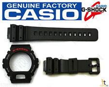 CASIO DW-6900G G-Shock ORIGINAL Black BAND & BEZEL Combo DW-6900 DW-6600