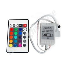 24 Key Infrared Remote Control for 3528 or 5050 LED Light Strips RGB