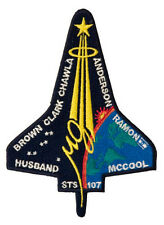 """NASA SPACE SHUTTLE COLUMBIA STS-107 5"""" PATCH PATCHES"""