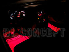 Scion FRS Subaru BRZ Interior Foot Well Floor RED LED Light Strips Toyota FT86