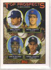 New listing Mike Piazza Collectors Lot 1993 Topps Prospect Card # 701 Plus 2 SI Poster