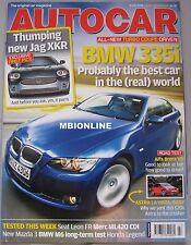 Autocar 5/7/2006 featuring Seat Leon, Mercedes, BMW, Alfa Romeo, Honda
