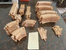 Used Thomas the Train Wooden Track-64 pieces