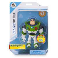NEW 2017 Disney Store Buzz Lightyear Action Figure PIXAR Toybox Toy Story MIP