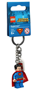 Lego 8539532 DC Comics™ Super Heroes Superman™ Key Chain New with Tag
