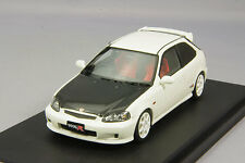 1/43 Mark43 Honda Civic Type R (EK9) Carbon Bonnet Championship White PM4340CW