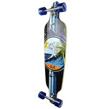 Yocaher Punked Drop Through Wave Longboard Complete