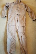 british military raf flight crew overall coverall beigh tan 180/96 large