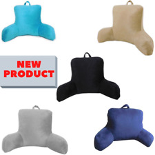 Plush Backrest Pillow Bed Chair Cushion Support Back Rest 5 Colors USA, College
