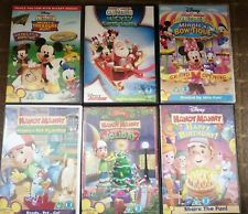DISNEY JUNIOR BUNDLE (MICKEY MOUSE CLUBHOUSE/HANDY MANNY) 8 DVD'S A1 CONDITION